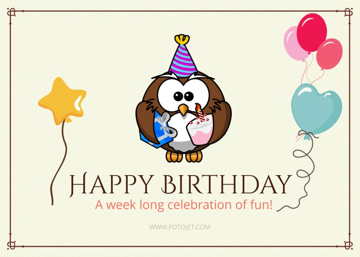 FotoJet Design birthday