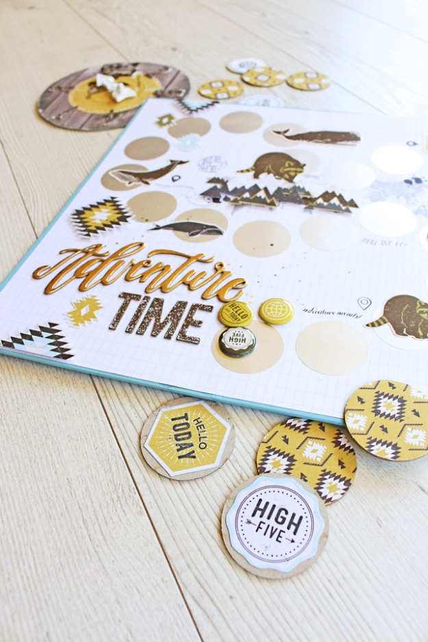 DIY Board Game by Chantalle McDaniel for We R Memory Keepers