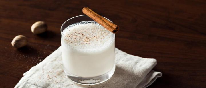 Milk Bourbon Punch