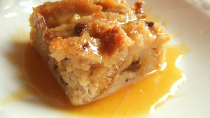 Bread Pudding @ Whiskey Sauce