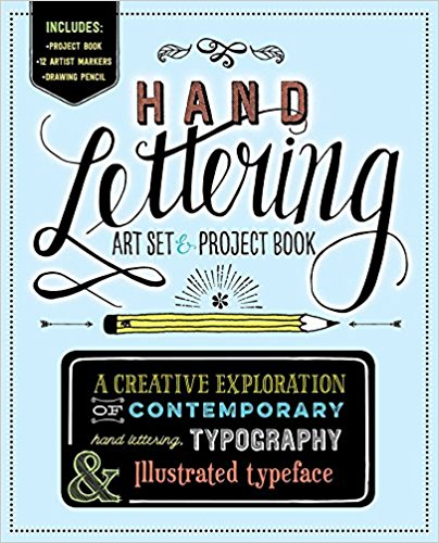 Hand Lettering * Art Set & Project Book