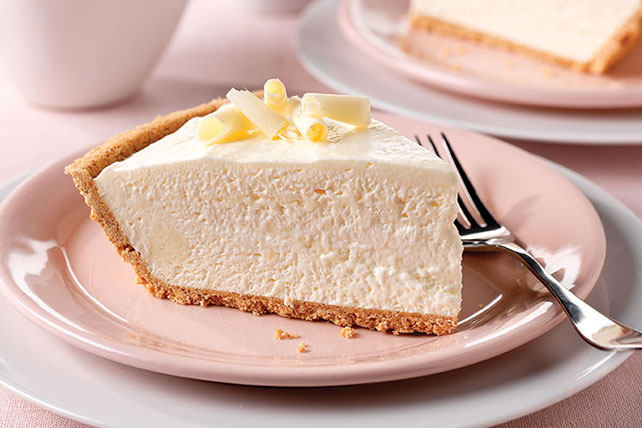 No Bake * White Chocolate Cheesecake