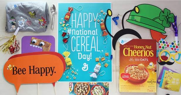 March 7 * National Cereal Day