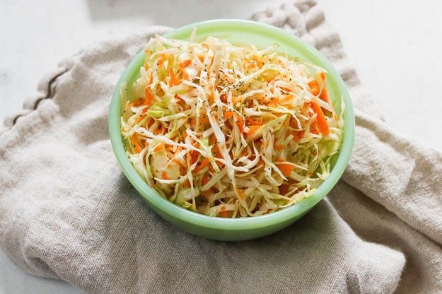 Vinegar Based Cole Slaw