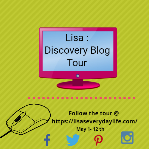 Day #6 : May Discovery Blog Tour