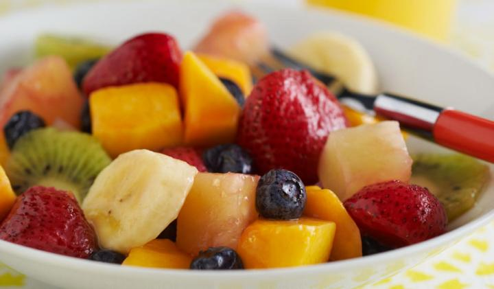 Fruit  Salad * Honey & Lime Dressing