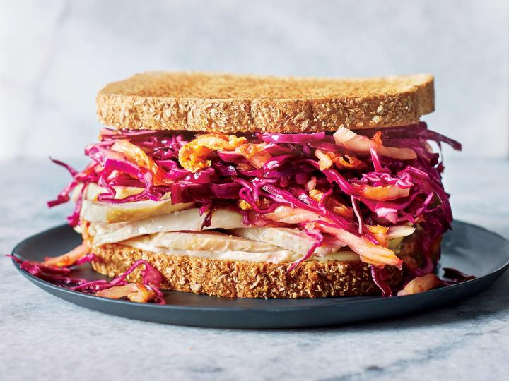 Favorite Brown Bag Sandwich * Turkey and slaw