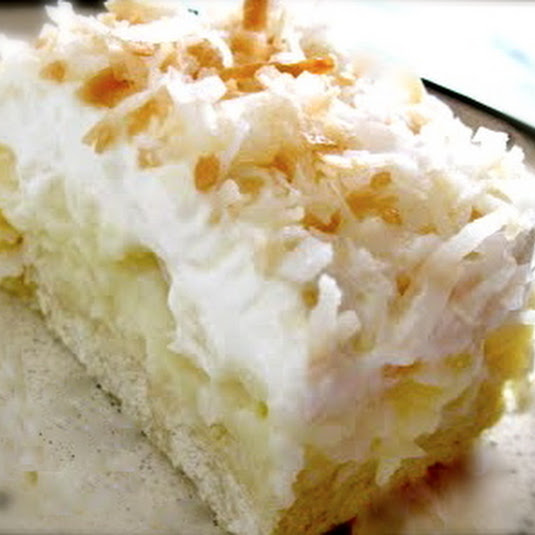 Coconut Pie Bars Recipe *