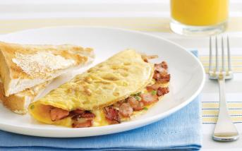 bacon-and-cheese-omelet