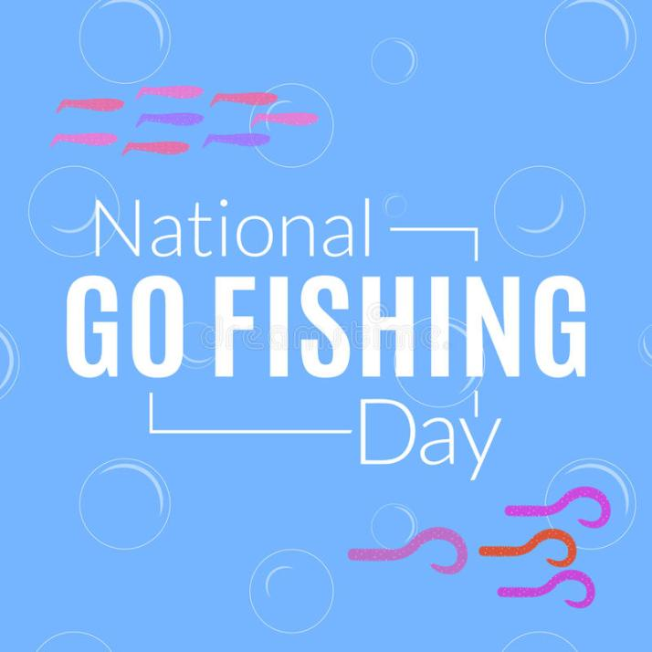 national-go-fishing-day-card-illustration-vector-logo-colorful-silicone-twister-baits-water-fishery-card-illustration-93747329