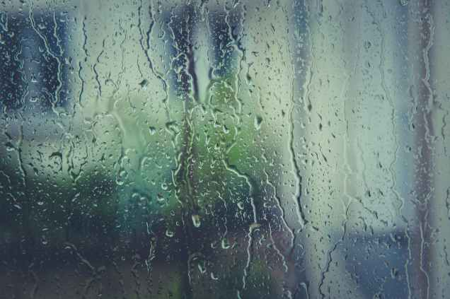 rainy rain raindrops window
