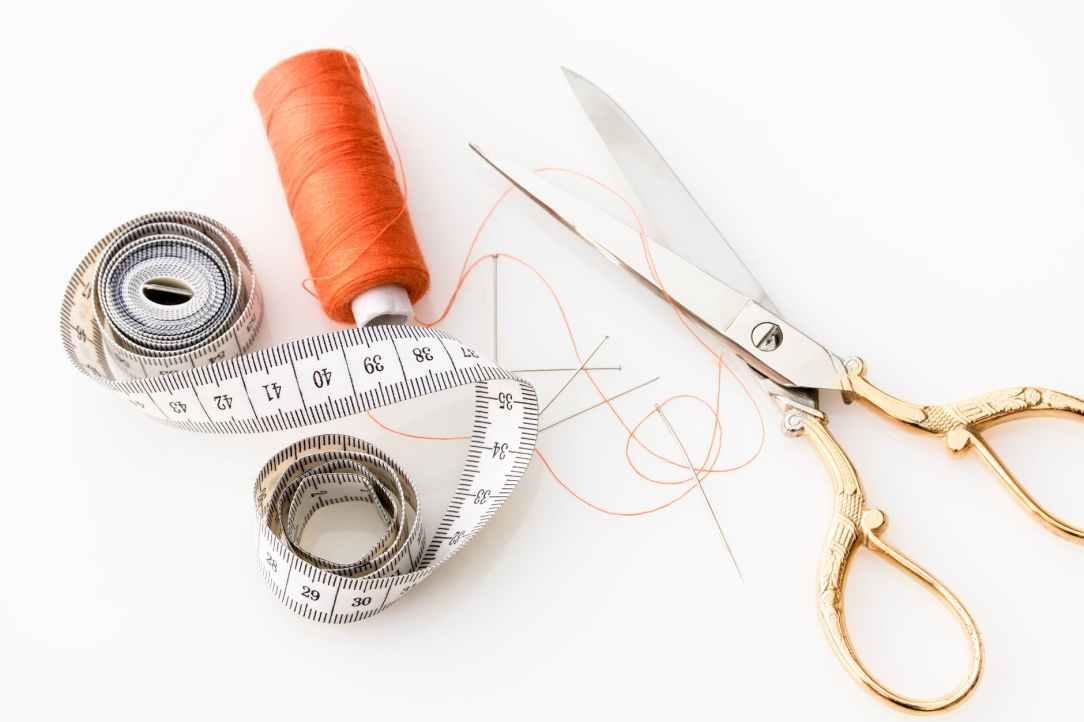 fabric scissors needle needles scissors
