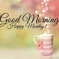 "Happy Monday "" What's Up"