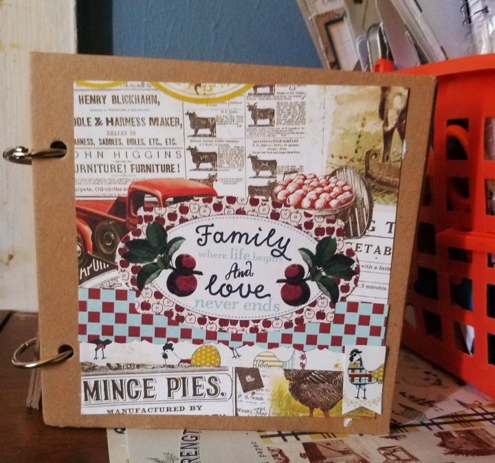 Family Chipboard Album