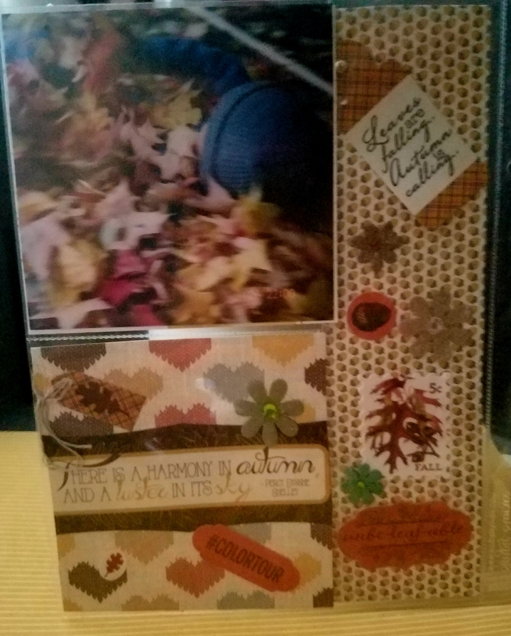 Fall  Pocket Pages *  Life isColorful