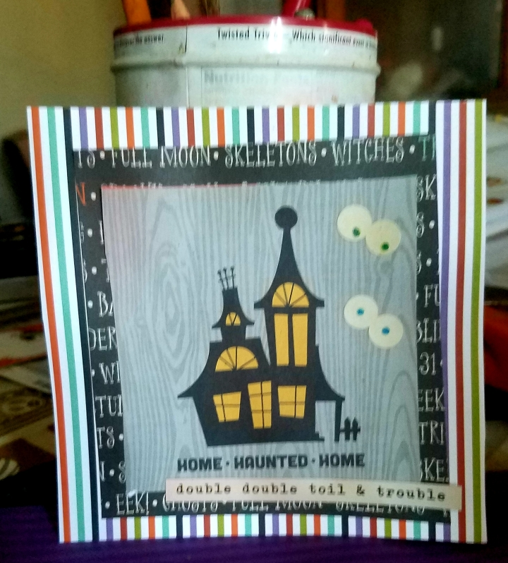 Halloween Card and Pocket Page *