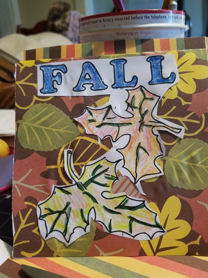Science Time * Flip book on Changing Leaves