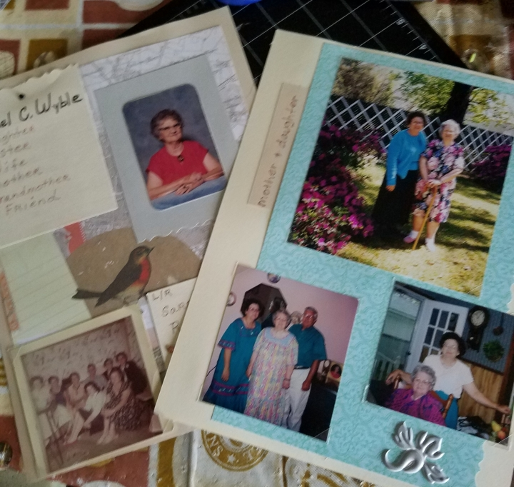 Family Scrapbook Album * Remembering the Past