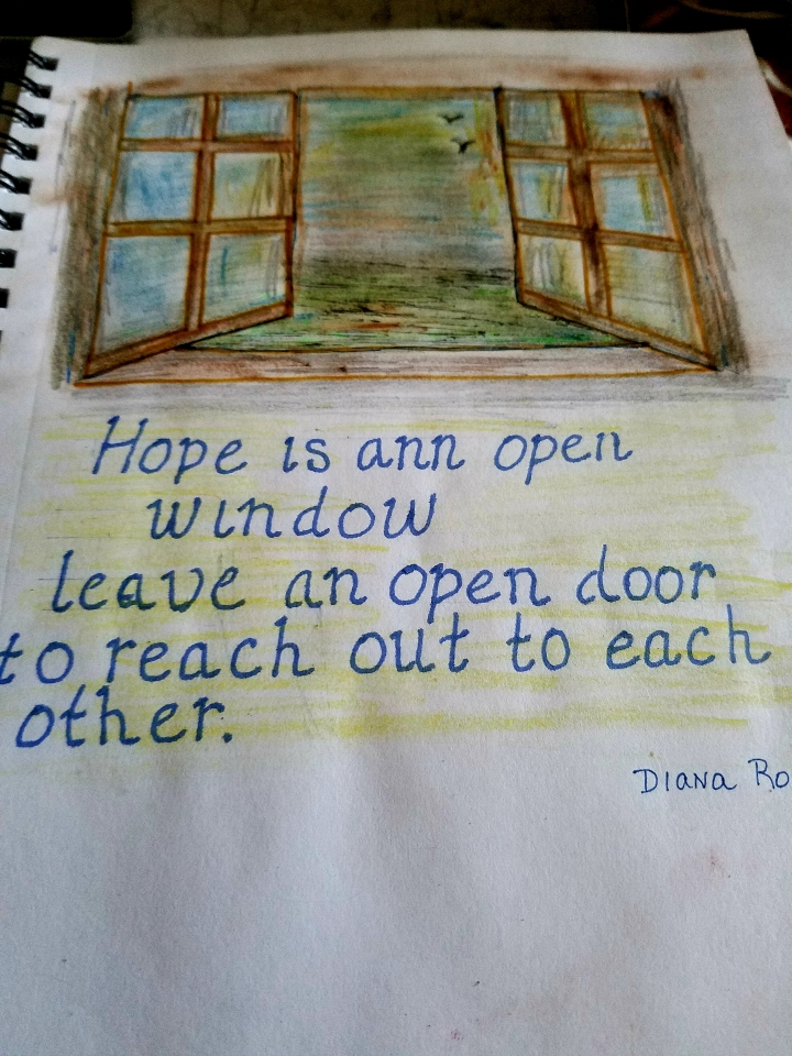 Hope is an Open Window