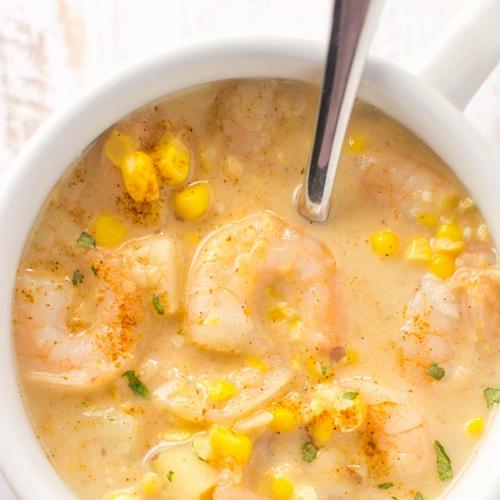 Crockpot-Cajun-Corn-Soup-4