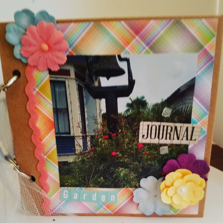 Garden Journal for my Mom