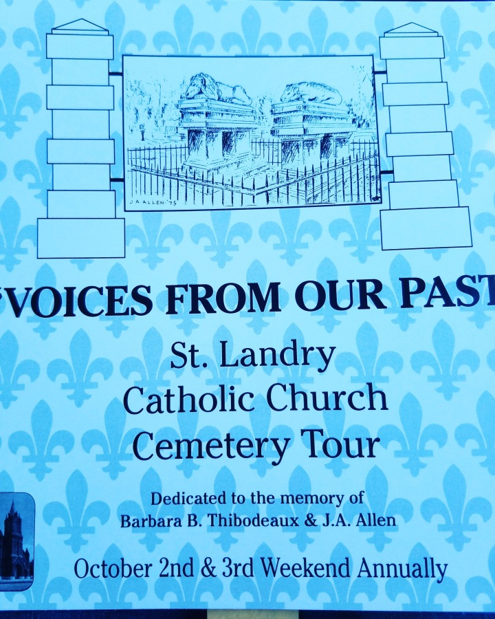 Road Trip with Tom and Lisa *St Landry Catholic Church Cemetery Tour: