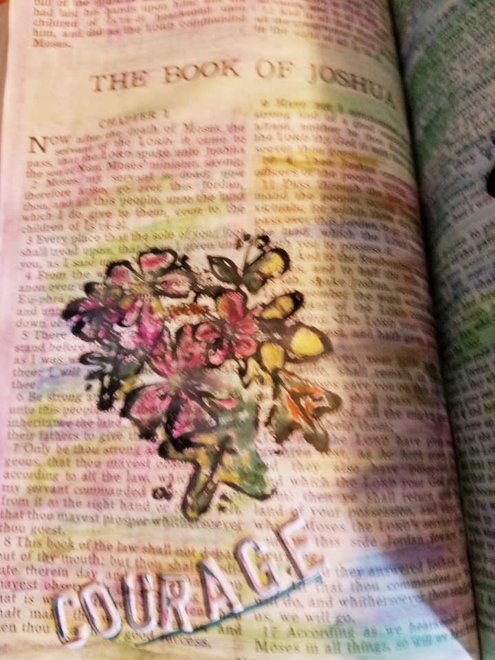 Sunday's* Bible journaling