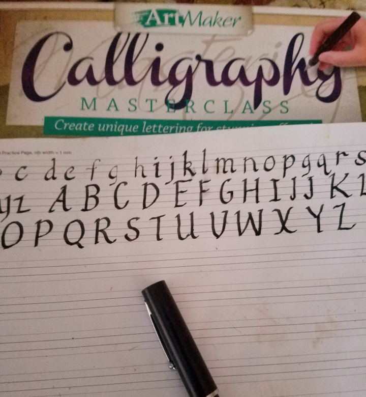 Calligraphy Kit Review and Project