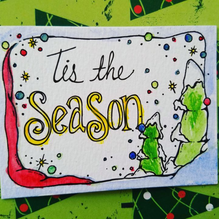 Watercolor Basic * Christmas Cards