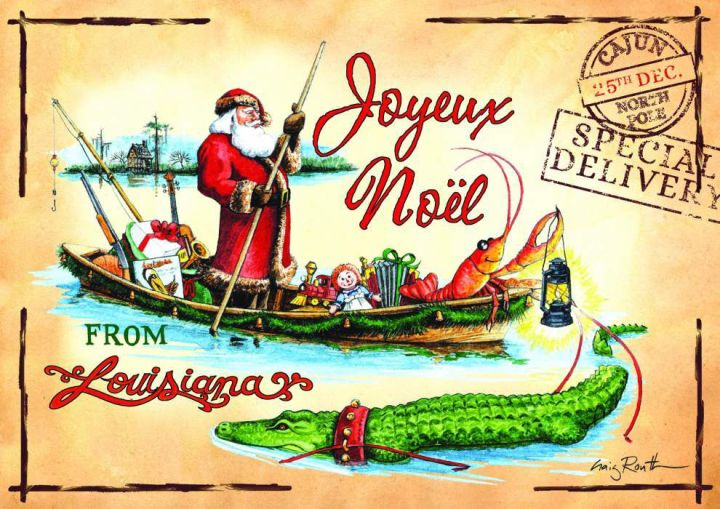 You are invited to a Louisiana Christmas *