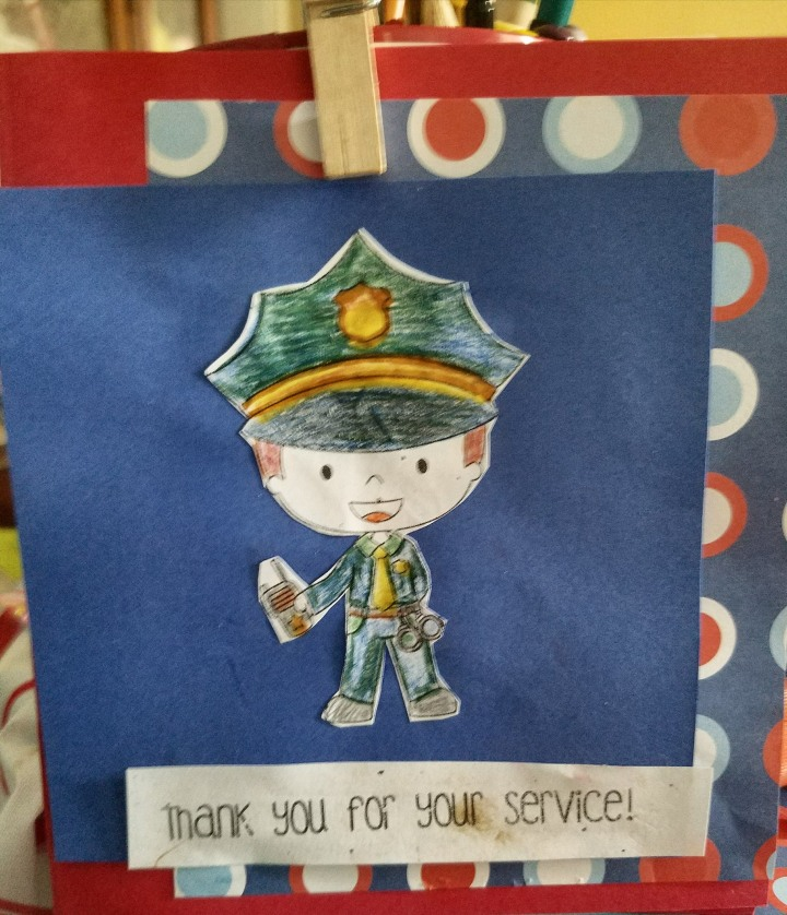 National  Law Enforcement Appreciation Day  * cards andcrafts