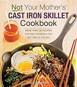 Book Review : Not Your Mother Cast Iron Skillet Cookbook