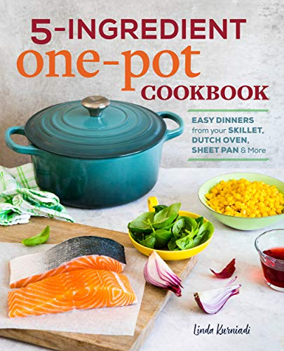 Cook Book Review : 5 ingredient  one pot cookbook