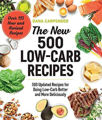 Book Review * The New 500 Low Carb Recipes