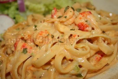 Lent recipe : CrawfishPasta