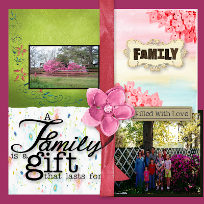 March * ScrapbookLayout