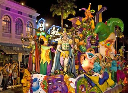 Mardi Gras Parades: