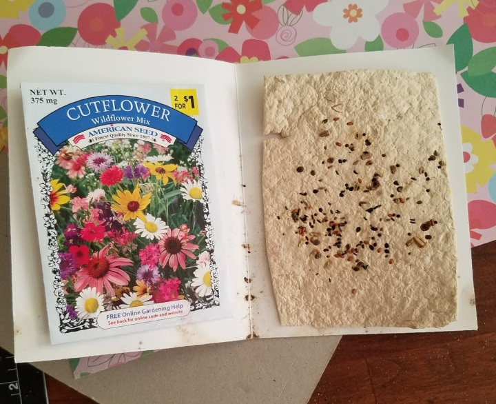 Homemade Seed PaperCards