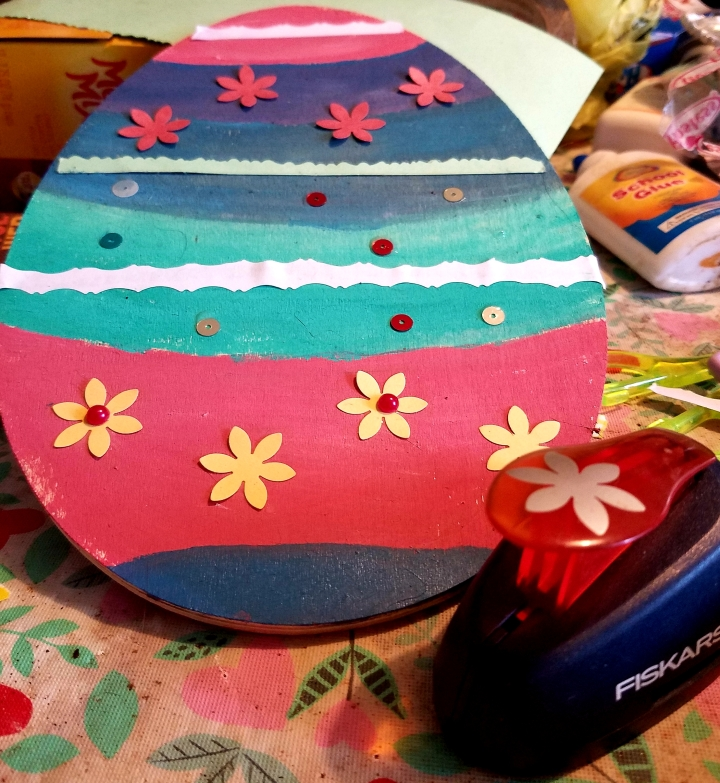 Painted Easter Egg …
