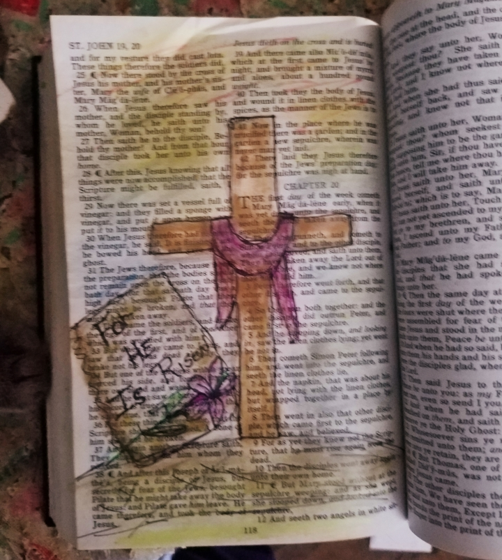 Easter Sunday * Bible Journaling