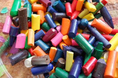 DIY Friday * RecycledCrayons