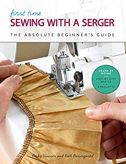 First Time Sewing with aSerger