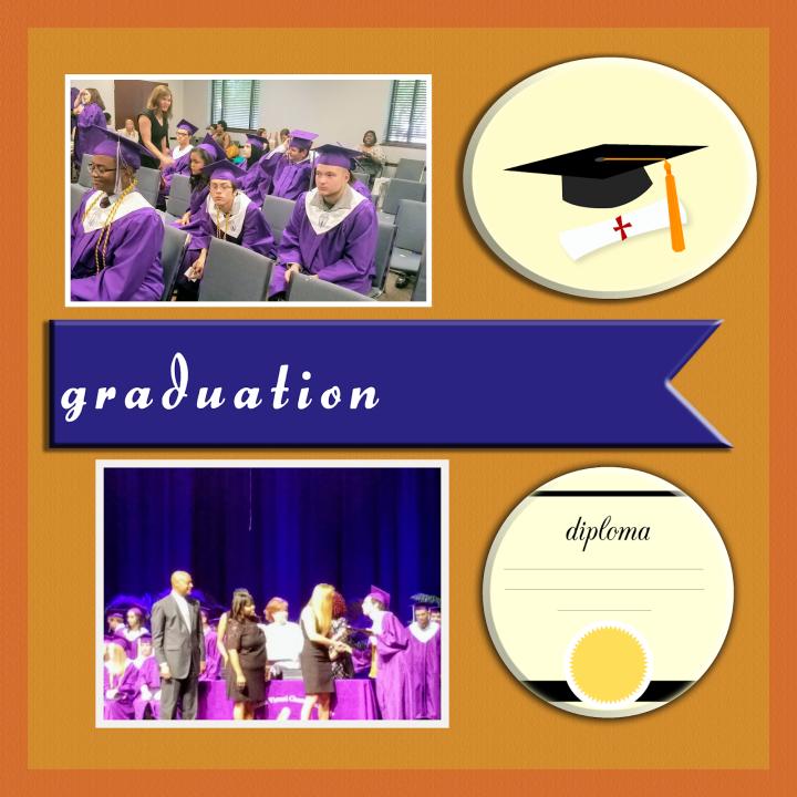 Graduation page