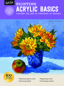 Book Review* Painting Acrylic Basics