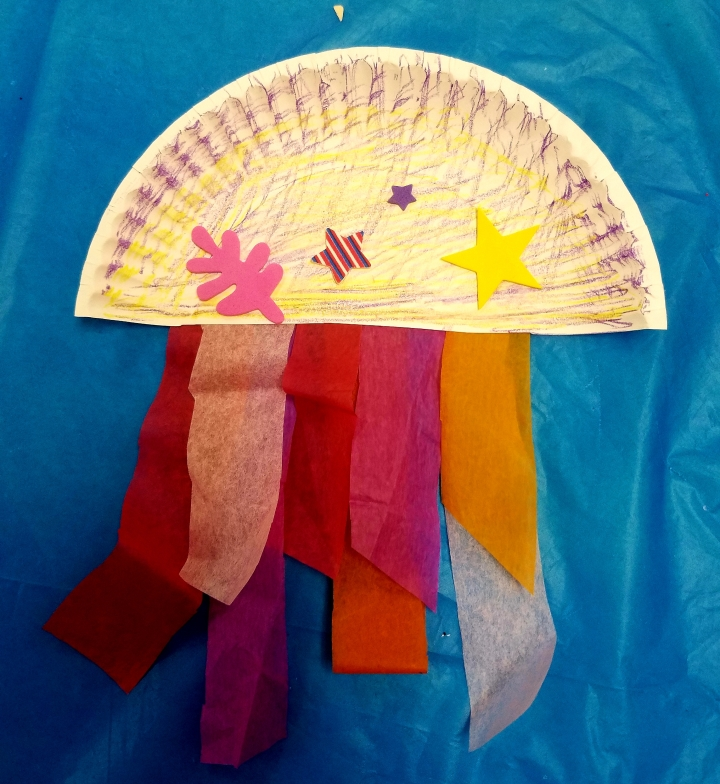 Kids Crafts at the Library