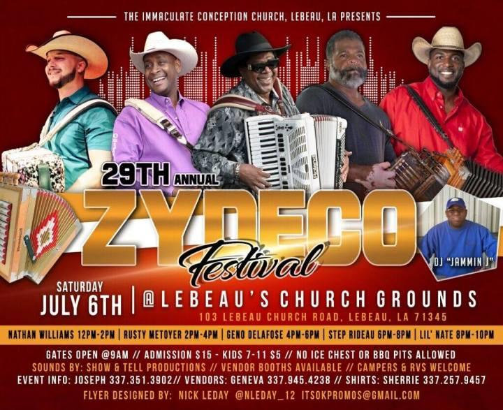 Lebeau Zydeco Festival