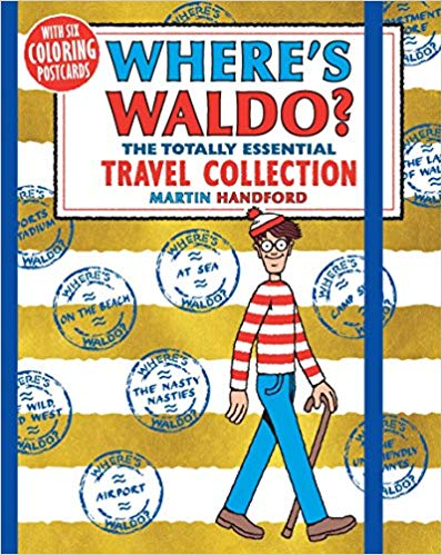At the Library * Where's Waldo?