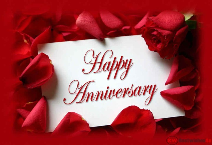 Happy Wedding Anniversary toUs