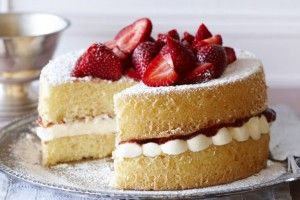 Basic Yellow Sponge Cake