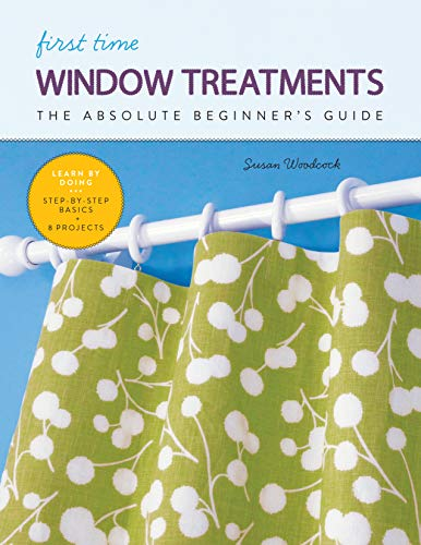 First Time Window Treatment * BookReview